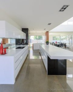 White kitchen benchtop from Newgrove Geelong